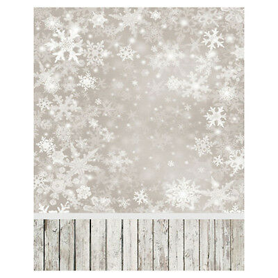3x5ft Photography Background Snowflake Baby Theme Backdrop  Studio Props SI