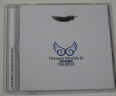 Final Fantasy Distant Worlds II SOUNDTRACK  Square Enix OOP