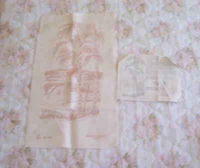 Quality 1975 Vintage Indian Summer Unworked Embroidery .valley Craft Canada