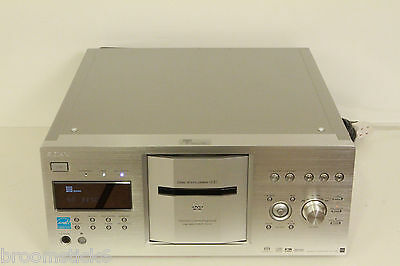 Sony DVP-CX777ES 400 Disc DVD/ CD Player Jukebox (Silver) -Works Perfect