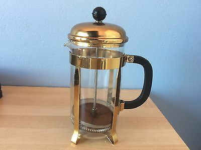 Retro/vintage Anodised Pyrex Coffee Pot - Plunger
