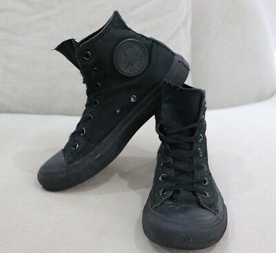 Converse All Star Chuck Taylor High tops All Black Size 6 Mens Womens 8