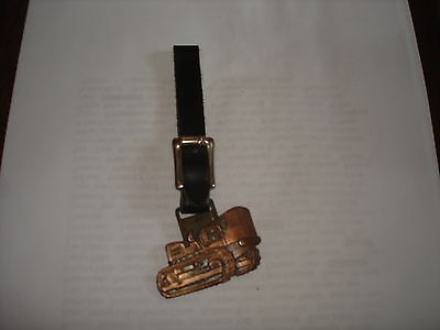early ac allis chalmers hd21 bulldozer watch fob and strap,mint