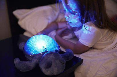 Cloud B Tranquil Turtle Plush Lagoon Nightlight - Ocean
