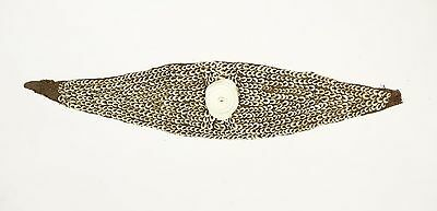 Old woven Nassa shell headband from the Ramu, New Guinea