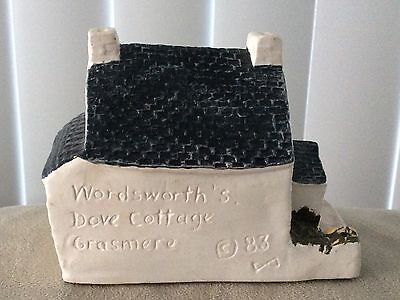 "VintageRARE 1983 Miniature House ""Wordsworth's Dove Cottage"" Westcountry England"