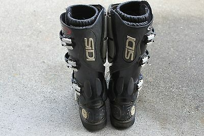 Sidi Mens Flex Force Dirt Bike Boots - Used (Euro 43, USA - Mens 9)