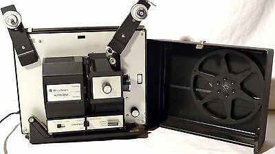 Bell & Howell Autoload 471A VARIABLE SPEED Dual 8mm Super-8 Vtg Movie Projector