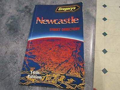 Gregory's Newcastle Street Directory 16th Edition 1987
