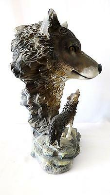 Wolf Collectible Wildlife Animal Figurine Statue Sculpture Collection