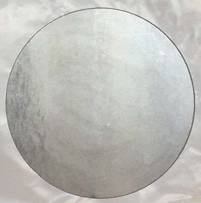 "1"" Steel Plate Round Circle Disc 5"" Diameter A36 Steel"