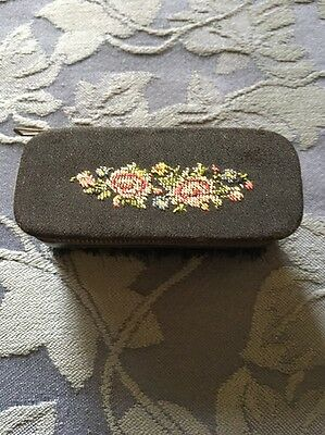 Vintage Antique Manicure And Clothes Brush Combo