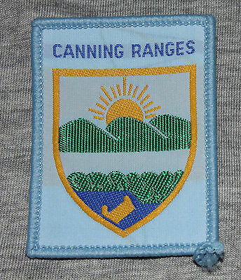 Scout Badge Canning Ranges