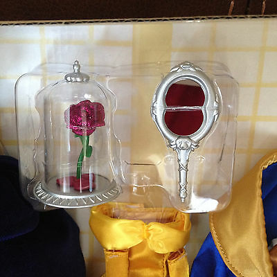 """Disney Beauty and the Beast Deluxe Classic 12"""" Doll set Accessories ONLY Rose"""