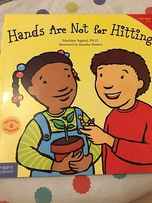 Hands are Not for Hitting by Martine Agassi (Paperback, 2009)