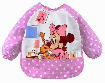 Kids/Children's Bib/Smock for Art,Craft,Painting,Drawing,Eating (Ages 0-2)