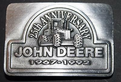 1992 John Deere 25th Anniversary Belt Buckle