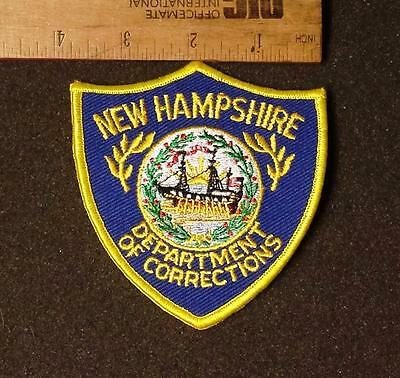 Vintage New Hampshire Dept of Corrections Iron/Sew on Patch