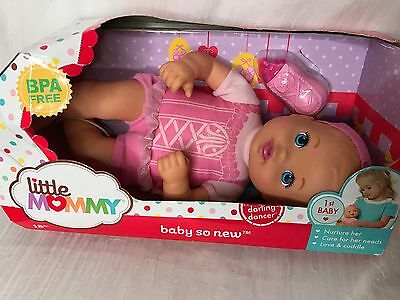 Fisher-Price Little Mommy Baby So New Darling Dancer 12'' Baby Doll MWT in Box