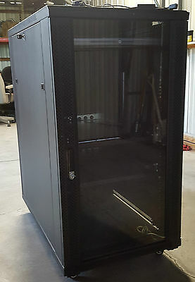 22 RU Free Standing Server Rack with Dell KVM