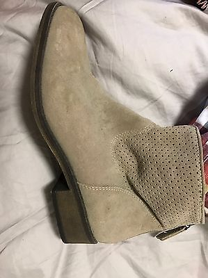 Nine West Suede Leather Boots - Size 8