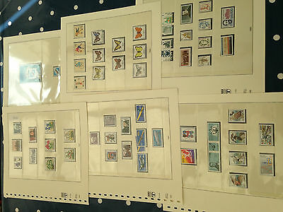 Germany Bundespost nhm postfrisch stamps and blocks of the year 1991 on falzlos