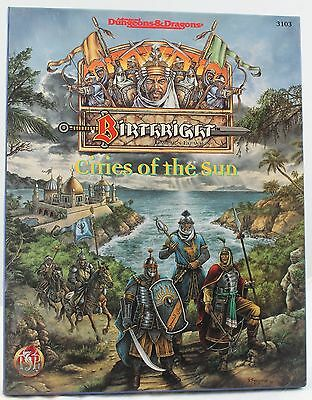 TSR AD&D Birthright 3103 Cities of the Sun (NM/NM)