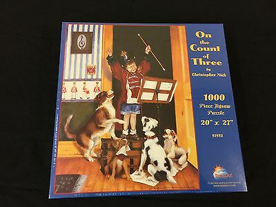 1000 Piece Jigsaw Puzzle - 'On the Count of Three' by Christopher Nick