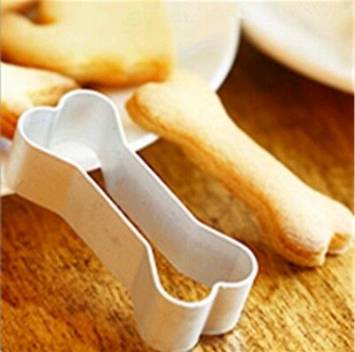 Bone shaped cookie cutter bakery dog Treat animal biscuit fondant UK SELLER