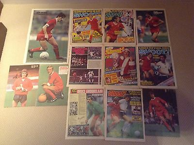 SHOOT Football Magazine Liverpool Player Posters 1970's & 1980's
