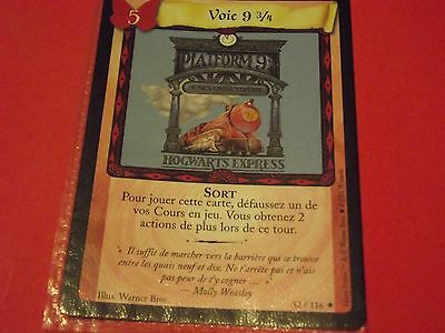 Harry Potter Trading Card Game   Neuves ** Voie 9 3/4   32/116  **
