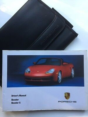 Porsche Boxster S 986 Owners Manual