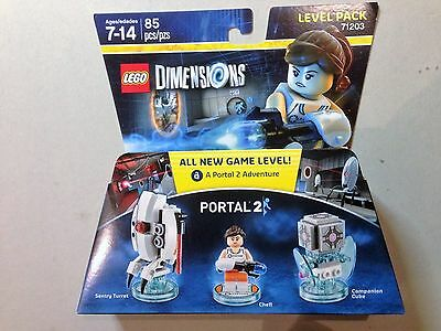 LEGO® DIMENSIONS™ Portal® 2 Level Pack (71203) NEW & SEALED, FREE SHIPPING