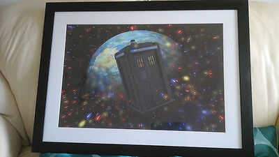 Doctor Who Tardis Planet Picture BRAND NEW