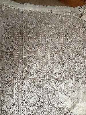 HOUSE LOT LACE CURTAINS x 6