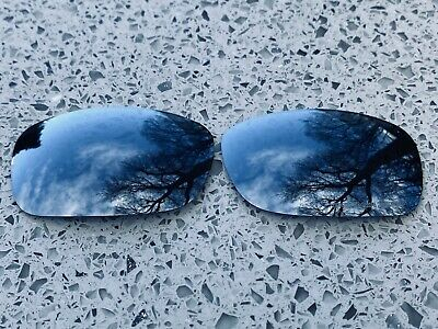 Polarized Silver Mirrored Replacement Oakley Fives Squared & 3.0 Lenses