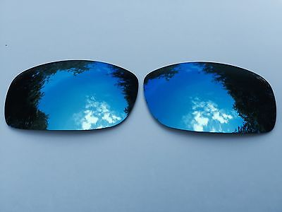 New Polarized Ice Blue Mirrored Replacement Oakley Fives Squared & 3.0 Lenses