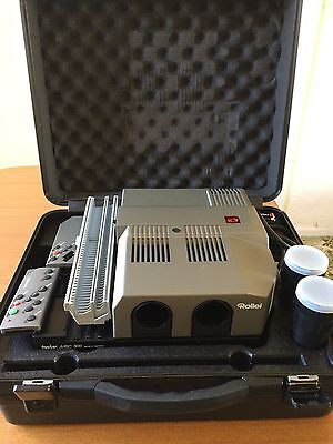 Rollei Rolleivision Twin MSC 300P dissolve projector in case