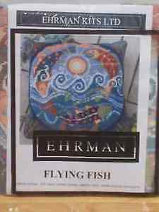 Ehrman Flying Fish Tapestry Kit (NEW) by. Alex Beattie