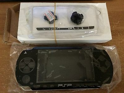 Job Lot 6 X PSP 1000 1003 Full Housing Shell Case Black New