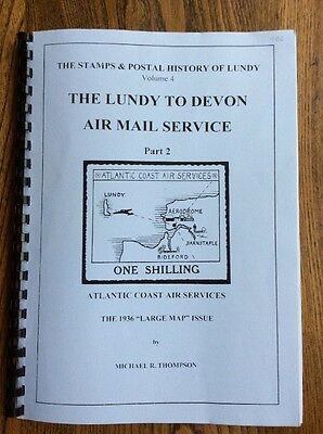 The Lundy to Devon Air Mail Service Part 2 by Michael R Thompson