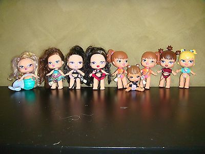 Bulk Lot Of Baby Bratz Dolls In Good Used Condition