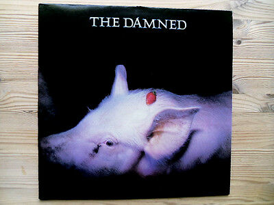 THE DAMNED Strawberries Limited Edt LP with Smelly Insert Lyric Sheet Ex Copy