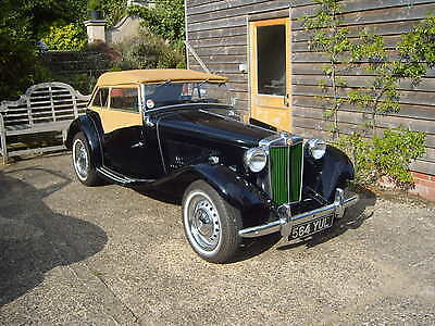 Classic Cars Supercharged MG TD