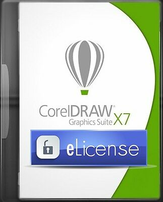 CorelDraw Graphic Suite X7 3PC