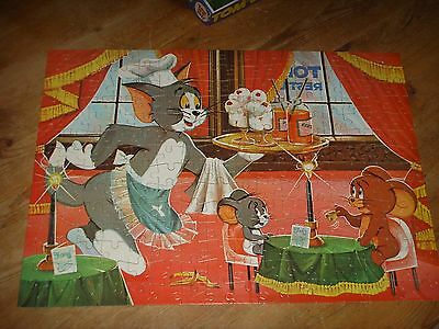 Vintage Whitmans 224 Piece Tom and Jerry and Nibbles Puzzle