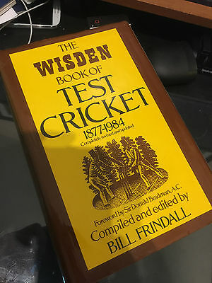 The Wisden book of Test Cricket 1877-1984
