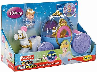 Fisher-Price Little People Disney Cinderella's Coach - New