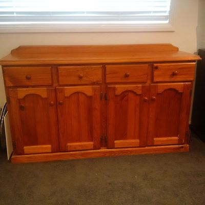 timber buffet cabinet cupboards drawers