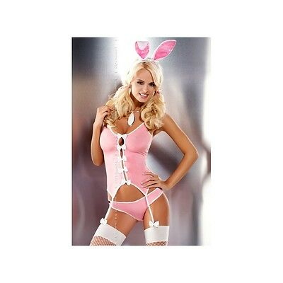 Ensemble complet guepiere Bunny Obsessive S-M